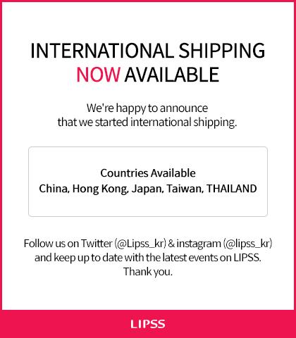 International shipping Open